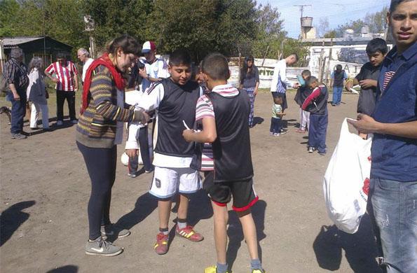 Al finalizar se organizó un torneo con los más pequeños, que luego disfrutaron de una merienda.