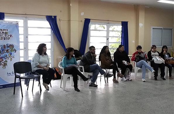 El encuentro permitió a los presentes reflexionar sobre las prácticas y los espacios de juego.