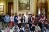 Los chicos y chicas de Bolívar realizaron la visita guiada a la Casa Rosada.