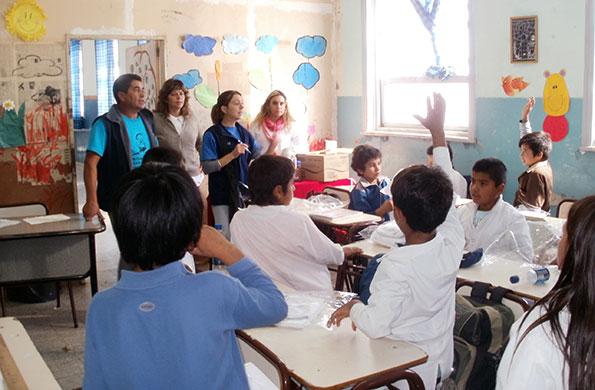 El objetivo fue cubrir la matrícula en las distintas escuelas sanjuaninas.