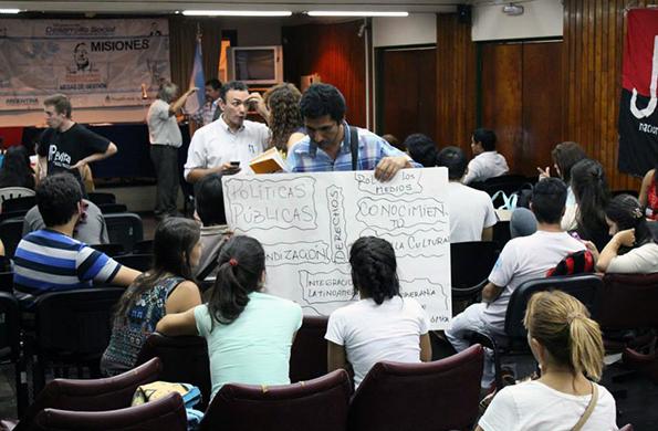 El objetivo fue generar un espacio para la discusión e intercambio de experiencias.
