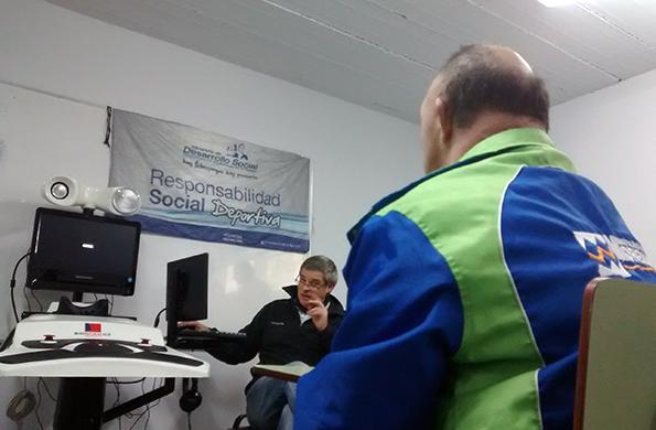 También se realizaron diagnósticos visuales y auditivos a aquellos participantes que lo solicitaron.