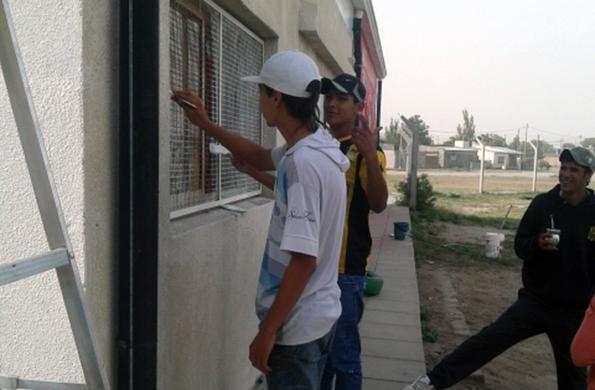 El objetivo fue mejorar la calidad de vida del barrio y de la comunidad.