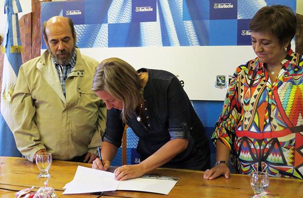 El acuerdo fue firmado hoy en Bariloche.