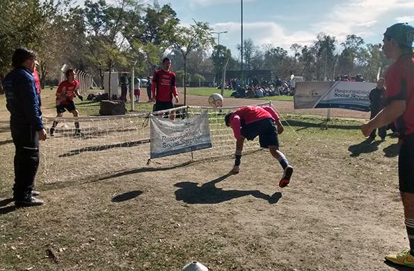 Se llevó a cabo el torneo de fútbol inclusivo para jóvenes y adultos con discapacidad.