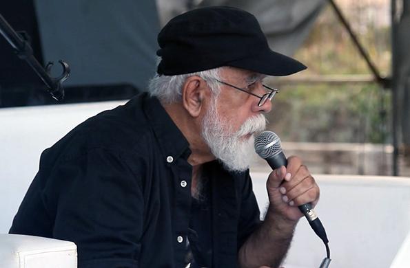 Rocambole dio su última charla abierta sobre los dibujos de los cds de los Redonditos de Ricota.