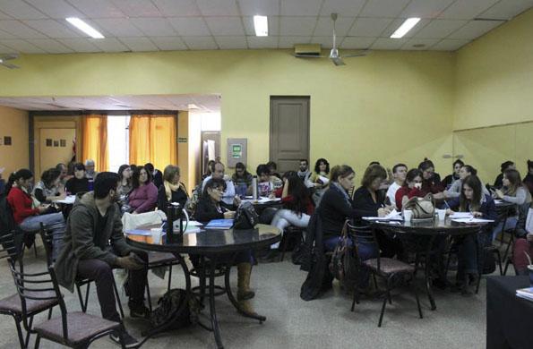 La actividad estuvo destinada a los equipos de trabajo del CDR y del municipio.