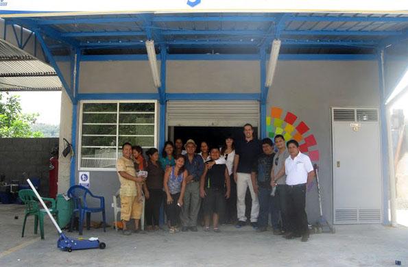 La actividad se realizó en el marco de un proyecto de cooperación entre Argentina y Ecuador.