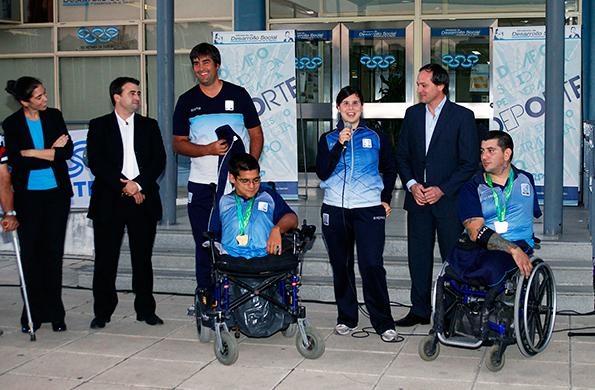 La delegación argentina tuvo su merecido reconocimiento en el CeNARD.