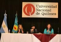 La actividad tuvo lugar en la Universidad de Quilmes.