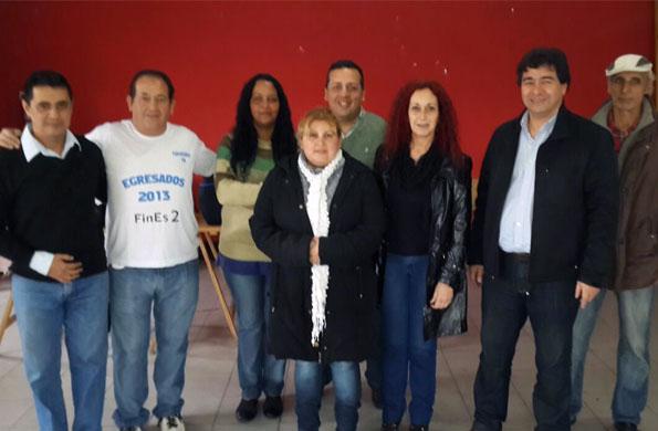 Cooperativistas de Ingreso Social con Trabajo participaron de la jornada en Tigre.