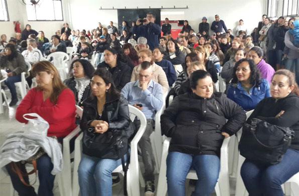 La actividad tuvo lugar en el Club San Justo de Benavidez en Tigre, provincia de Buenos Aires.