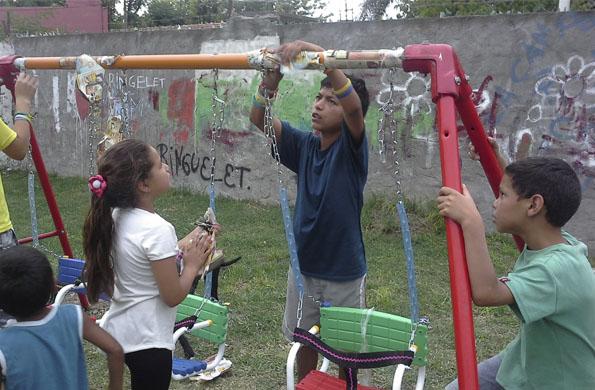 Se realizó una jornada refacción de espacios públicos en La Plata.