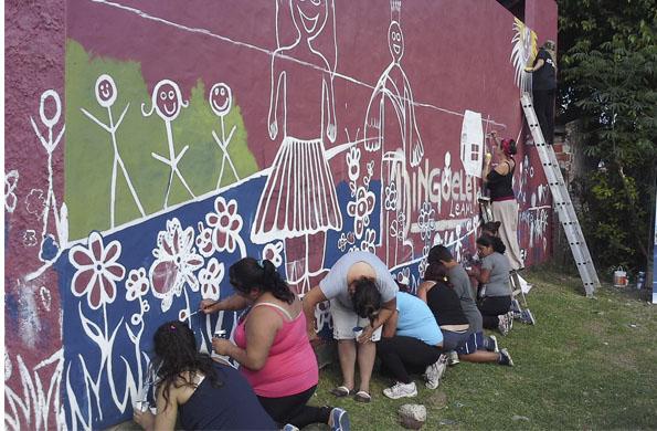 La actividad fue organizada por el Centro de Referencia y contó con la participación de los vecinos.