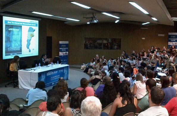 Se realizó el Encuentro Nacional de Referentes Territoriales del Monotributo Social.