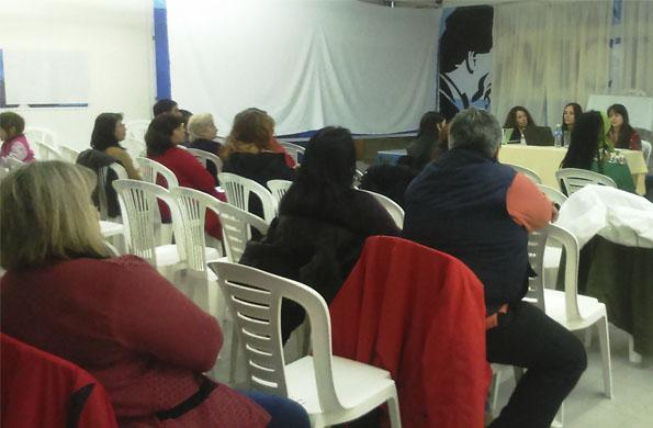 Se realizó una jornada sobre género y violencia en la ciudad de Ushuaia, Tierra del Fuego.