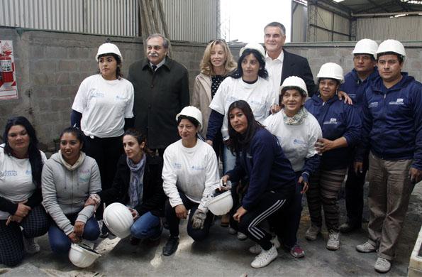 En el lugar trabajan cooperativistas de Ingreso Social con Trabajo.
