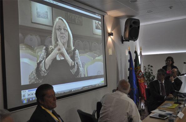 La ministra Alicia Kirchner participó del encuentro a través de un mensaje grabado.