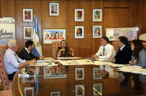 El objetivo de la reunió fue profundizar las tareas que se llevan adelante en las zonas afectadas.