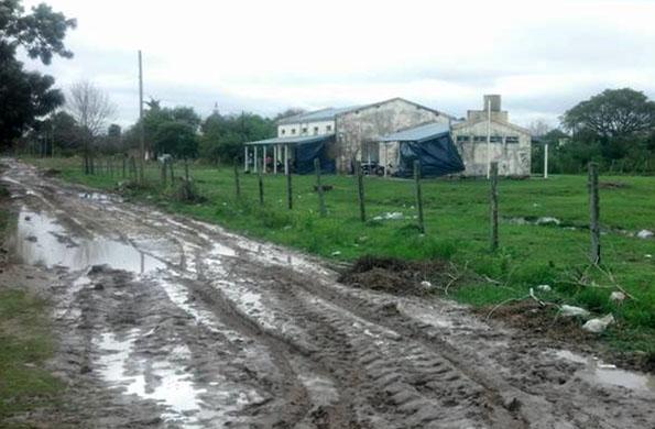 El temporal afectó a distintas provincias del Litoral argentino.