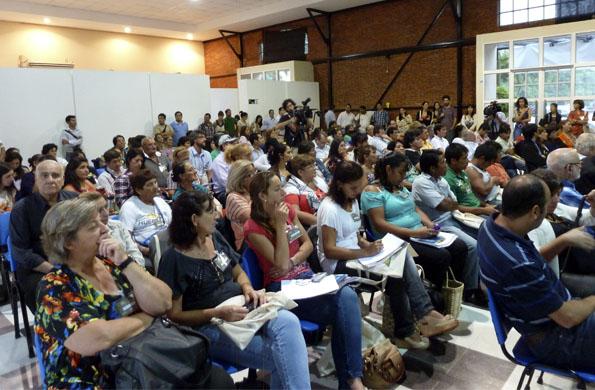 Más de 300 personas participaron del Ecnuentro Nuestros Alimentos Tradicionales.