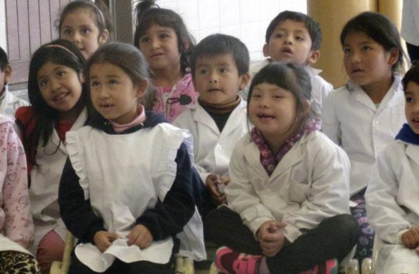 De las actividades participaron chicos de la comunidad Diaguita Calchaquí.