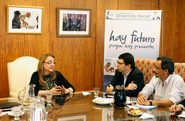 La reunión tuvo lugar en la sede de la cartera social