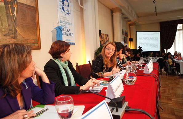 Alicia Kirchner destacó el rol de la mujer.