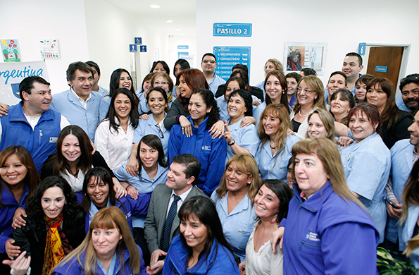 Se inauguraron las instalaciones de la sede del Centro de Articulación de Políticas Sanitarias.