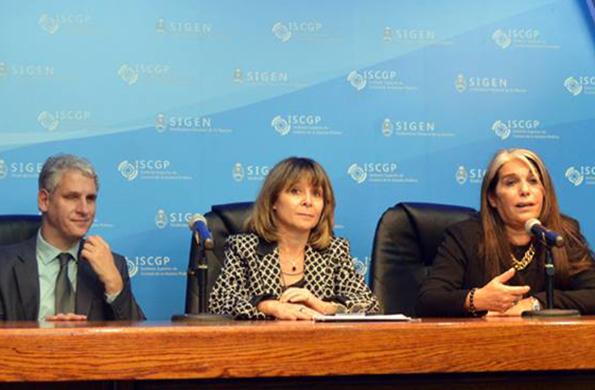 La actividad fue el viernes pasado en la sede de la Sindicatura General de la Nación.