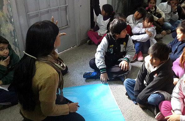Participaron alumnos de la Escuela Primaria Nº 50 de San Martín.