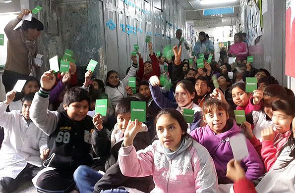 El Ministerio de Desarrollo Social realizó un taller sobre bullying.