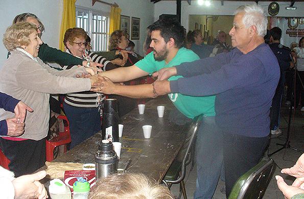 Las actividades lúdico - recreativas buscaron fomentar la integración de los participantes.