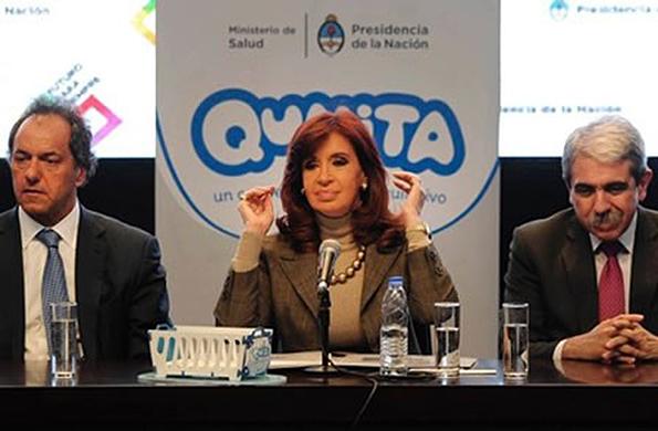 La Presidenta presentó el Programa de Acompañamiento de la Madre y del Recién Nacido Qunita.
