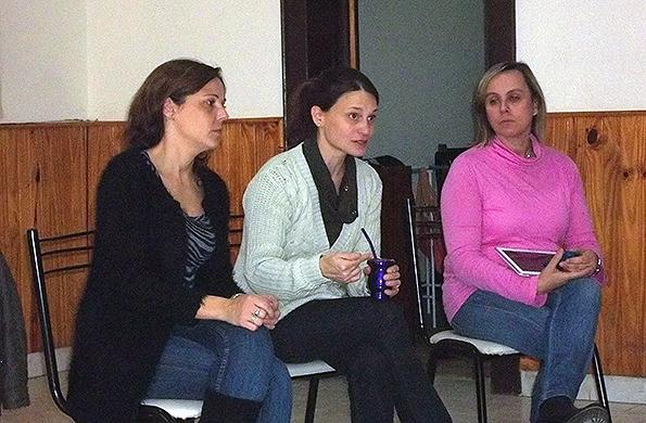 """Se realizó un taller sobre """"Relaciones sin Violencia"""" en las localidades de Orense y Claromecó."""