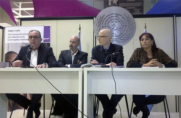 Desarrollo Social participó de la presentación de un estudio sobre VIH y empleo.