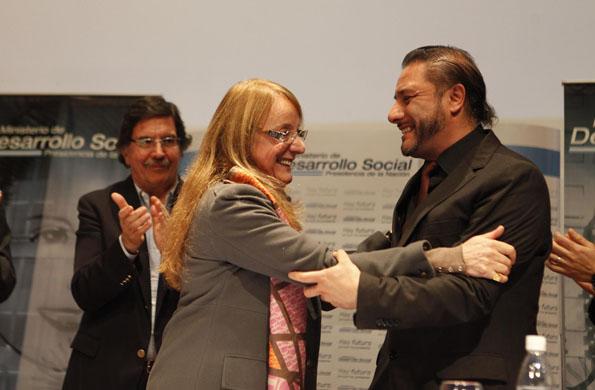 De la jornada participó el ministro de Educación, Alberto Sileoni.