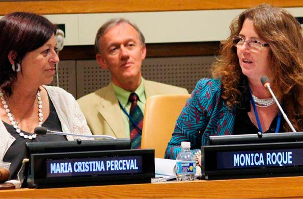El evento tuvo lugar en la sede de la ONU en la ciudad estadounidense de Nueva York.