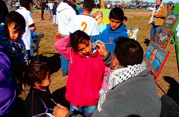 Se realizaron distintas actividades deportivas y recreativas para distintos clubes de La Matanza.