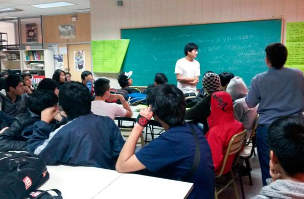De la jornada participaron más de 100 estudiantes de la Escuela Técnica 7.
