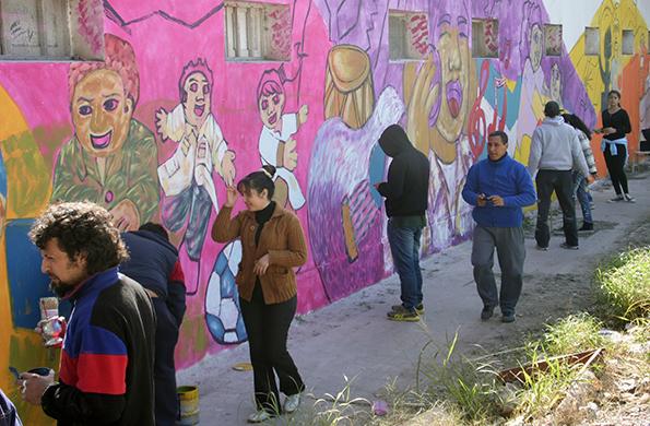 La actividad tuvo lugar en la localidad santiagueña de La Banda.