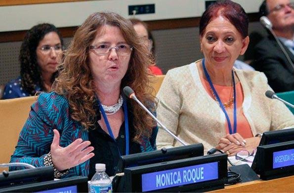 Argentina participó de una nueva jornada por los derechos de los asdultos mayores.