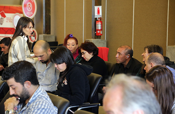 Se llevó a cabo un taller de administración para emprendedores de la economía social.