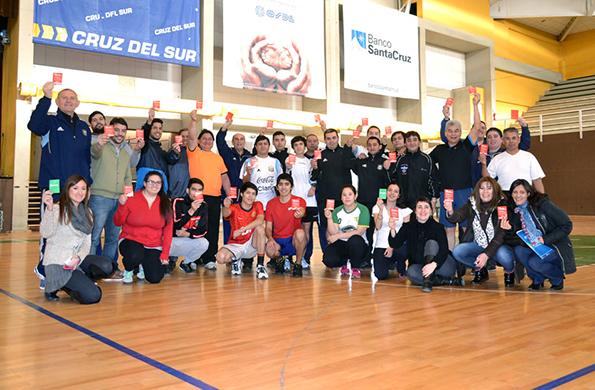 Se realizó un Taller Técnico para Arbitraje del Fútbol en Río Gallegos.