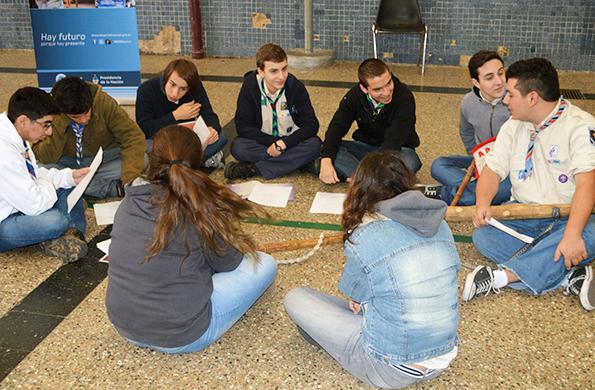 Se realizaron talleres sobre responsabilidad social, género y adicciones.