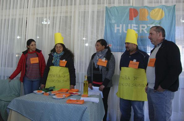 El eje de las actividades fue promover las prácticas alimentarias saludables.