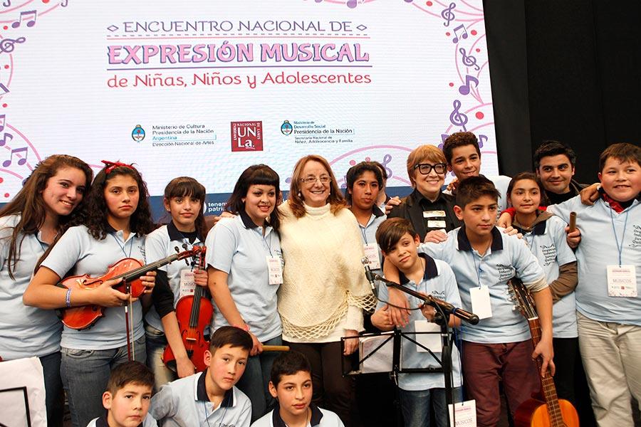 La actividad fue en el marco del Encuentro nacional de ensambles y orquestas.