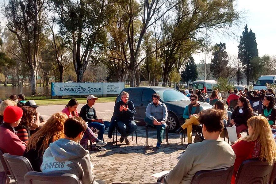 La actividad tuvo lugar la semana pasada en el CeReNa.