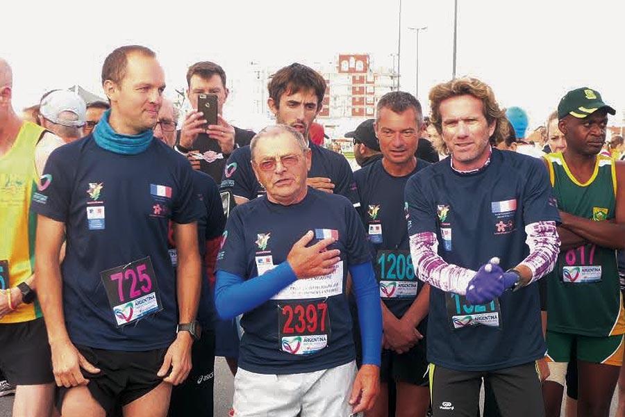Los atletas demostraron que un estilo de vida saludable es posible a partir de la experiencia de un trasplante.