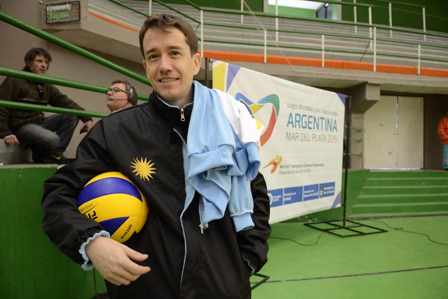 Manuel Borga es un deportista oriundo de Córdoba pero vive en Tierra del Fuego.